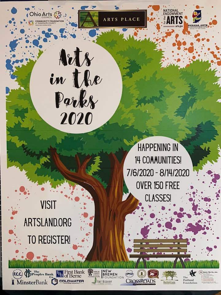 Check out the fun Arts in the Park activities!