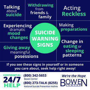 Suicide Hotline Information