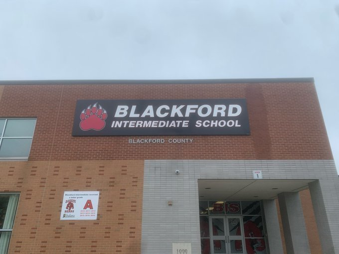 Blackford Intermediate School sign