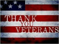 thank you veterans poster