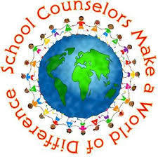 School Counselors Make a World of Difference clip art