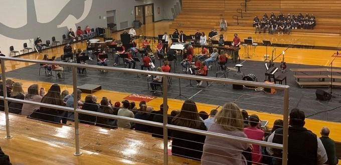 Band concert long view