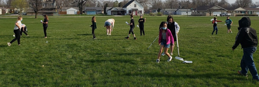 Kids playing at recess at Blackford Intermediate