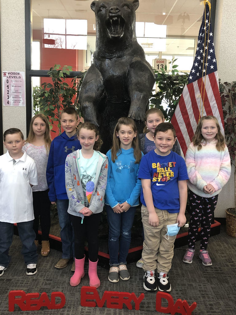 Group of 3rd grade students who received perfect scores on IREAD test