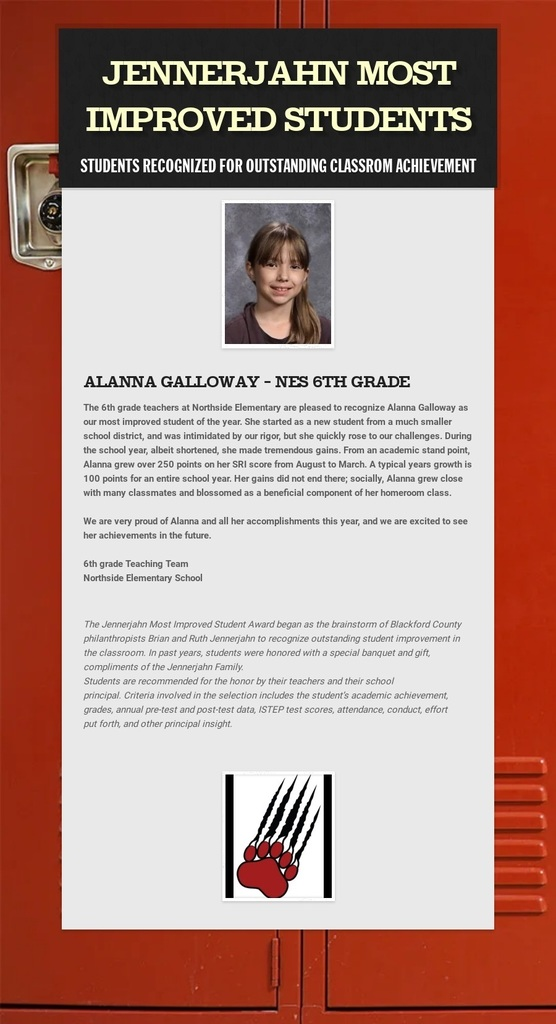 Image and info of Alanna Galloway