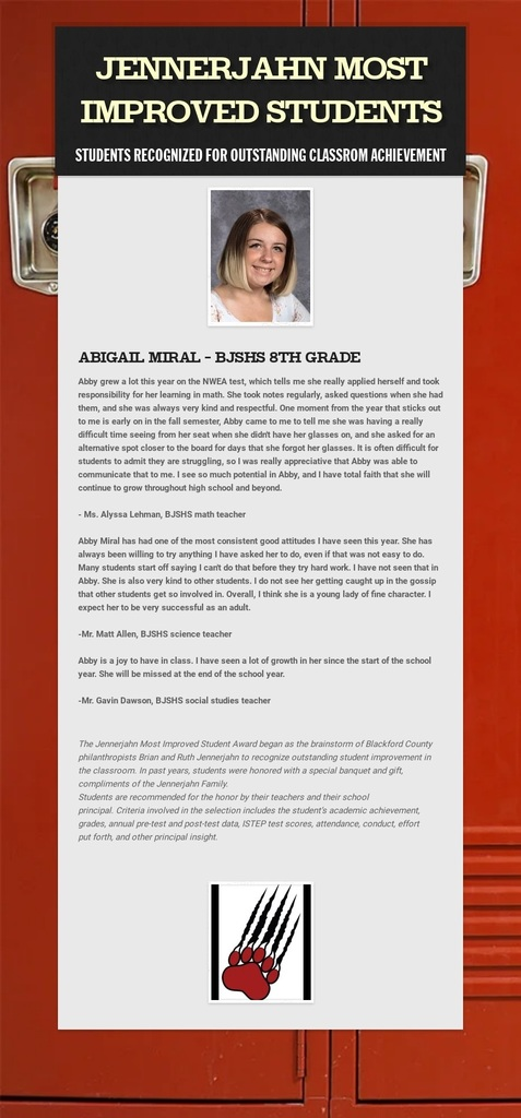 Photo and info of Abigail Miral