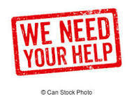 We Need Your Help sign